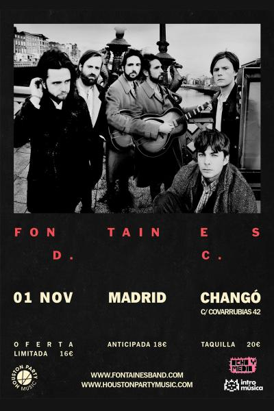 FONTAINES D.C en Madrid (Changó)