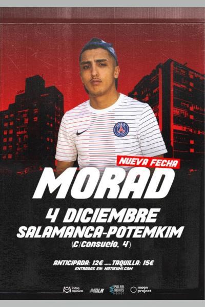 MORAD en Salamanca (Sala Potemkim)