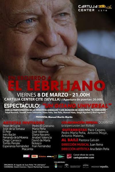 Gala Homenaje El Lebrijano