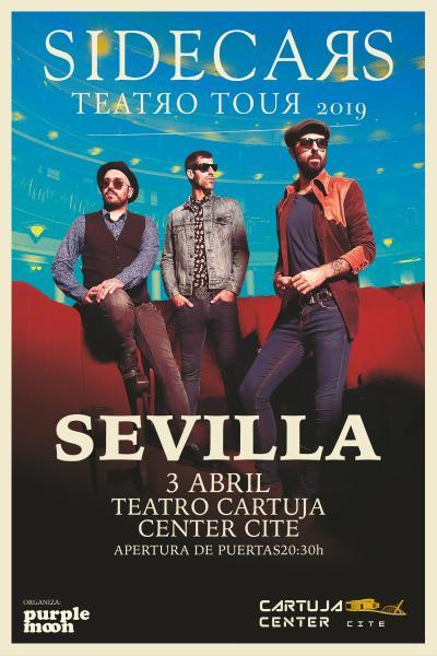 Sidecars en Sevilla – Teatro tour 2019