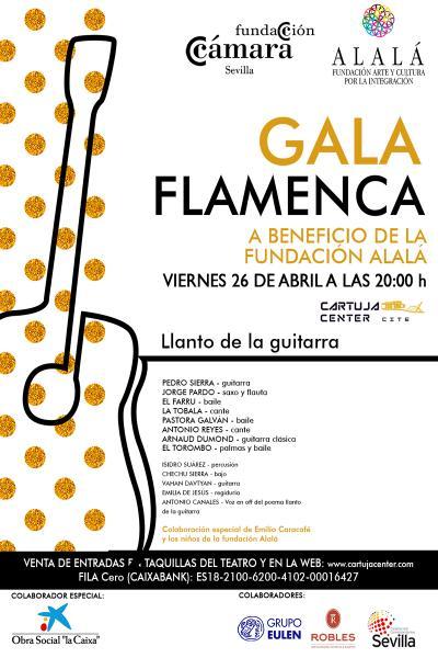 Gala Flamenca a beneficio de la Fundación ALALÁ