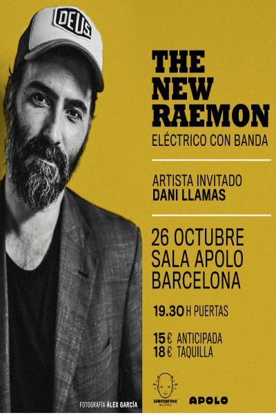 The New Raemon(eléctrico con banda) en Barcelona