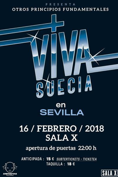 Viva Suecia en Sevilla