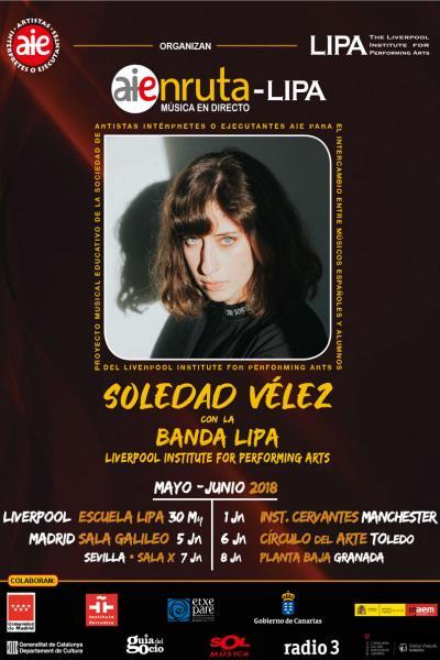 Soledad Vélez + Combo LIPA en Sevilla