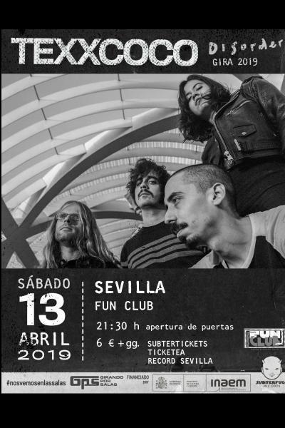 Texxcoco en Sevilla (concierto GPS)