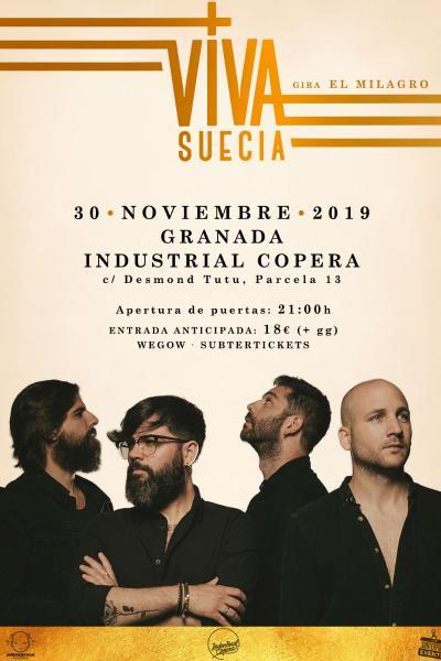 Viva Suecia + XEBI SF en Granada