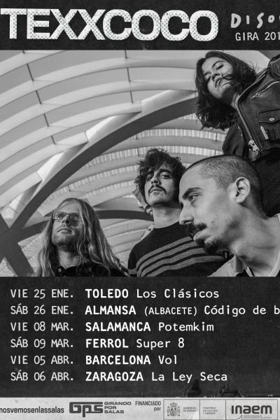 Texxcoco en Zaragoza (concierto GPS)
