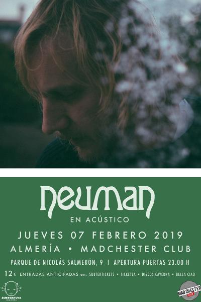 Neuman (acústico) en Almería