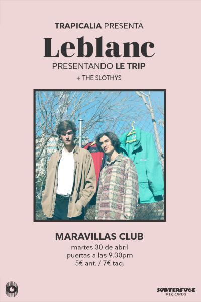 Concierto De Leblanc En Madrid By Trapicalia