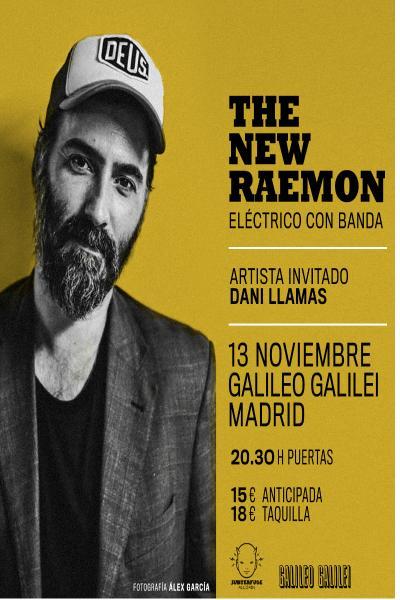 The New Raemon (eléctrico con banda) en Madrid