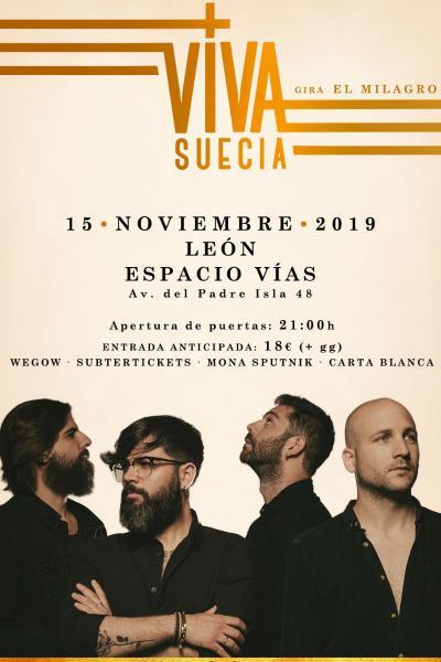 Viva Suecia en León