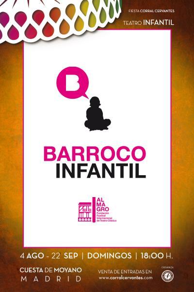 Finalista 1 del 8º Certamen BARROCO INFANTIL del Festival de Almagro