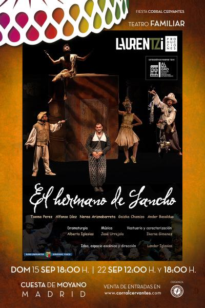 El Hermano de Sancho- Corral Cervantes 2019
