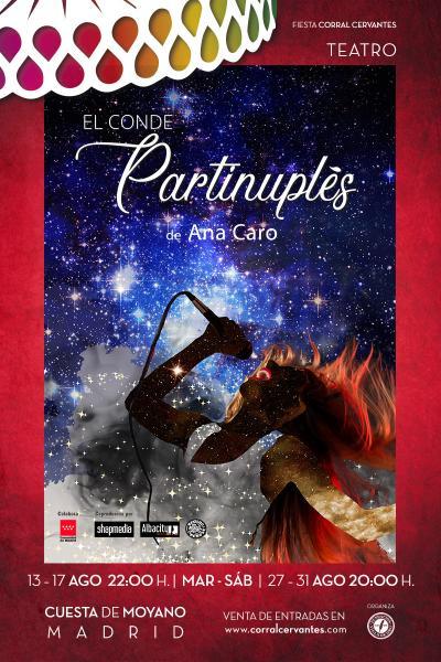 El Conde Partinuplés- Corral Cervantes 2019