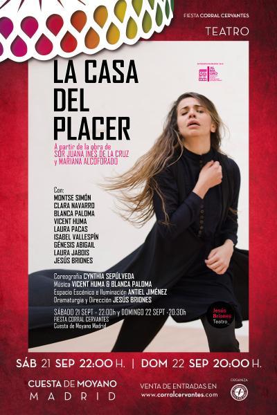La Casa del Placer-Teatro Danza con música en directo