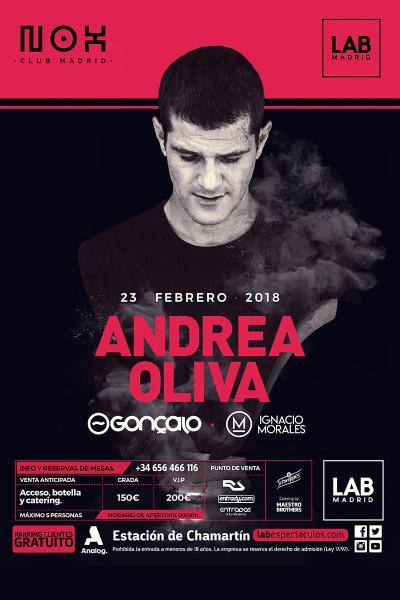 Nox Madrid presenta - ANDREA OLIVA