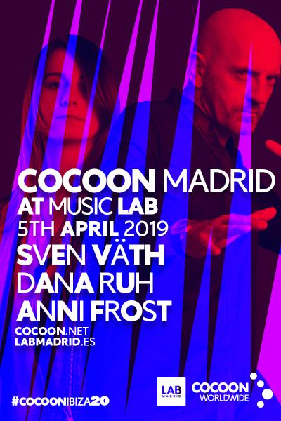 LAB Music presenta Cocoon con Sven Väth & Dana Ruh