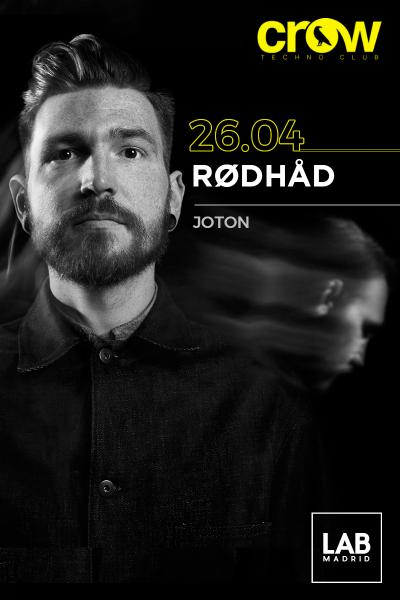 Rodhad en Crow Techno Club