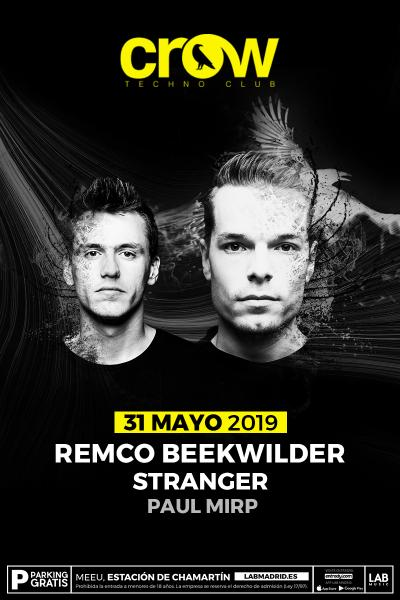 Remco Beekwilder en Crow Techno Club
