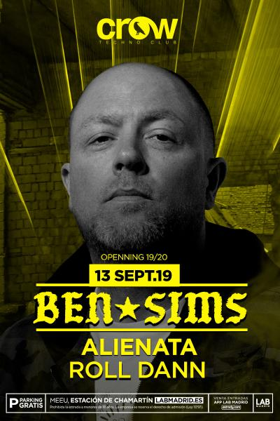 Ben Sims en Crow Techno Club
