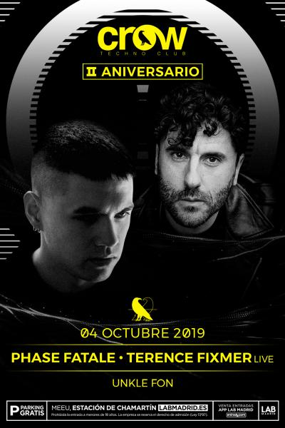 II Aniversario en Crow Techno Club