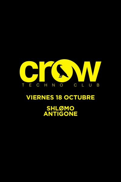 Shlømo + Antigone en Crow Techno Club