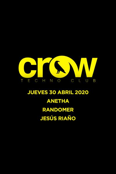 ANETHA & RANDOMER en Crow Techno Club