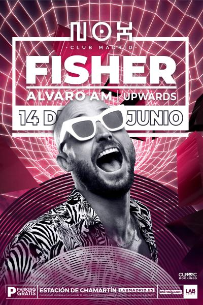 Fisher en Nox Club Madrid