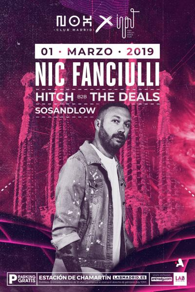 Nic Fanciulli en Nox Club Madrid
