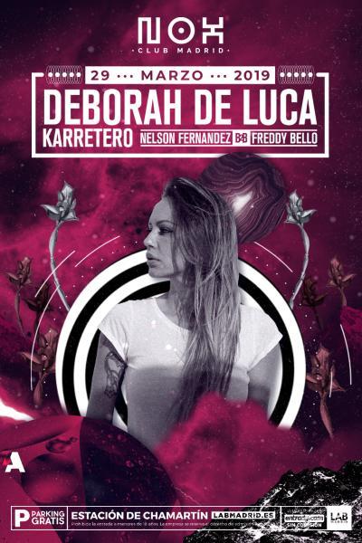 Deborah de Luca en Nox Club Madrid