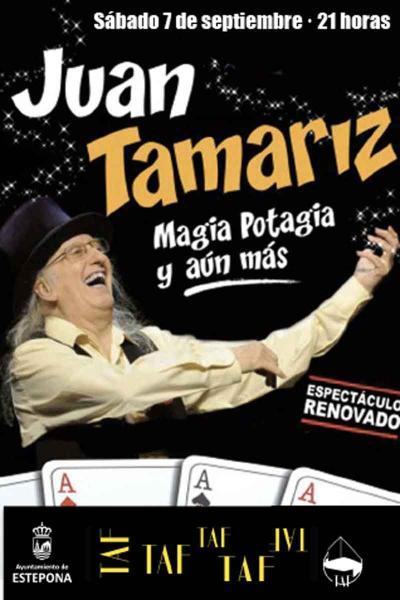 Juan Tamariz. Magia potagia, y aún más