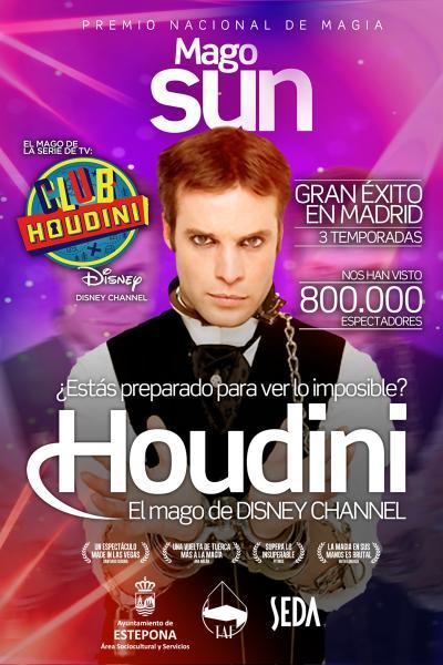 Mago Sun: 'Houdini, la magia del club'