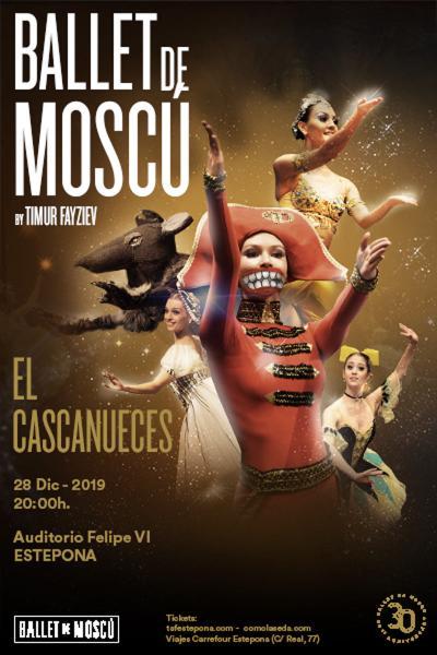 Cascanueces, del Ballet de Moscú
