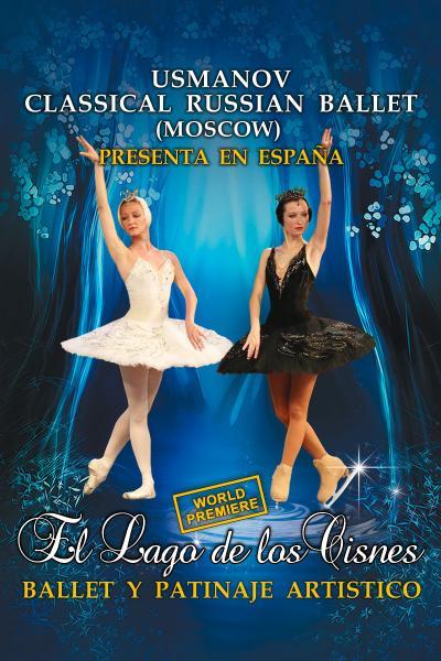 El Lago de los Cisnes. Usmanov Russian Ballet