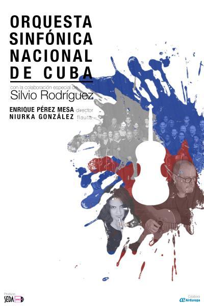 Orquesta Sinfónica Nacional de Cuba y Silvio Rodríguez en Barcelona