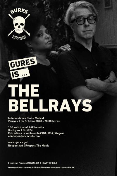 The Bellrays en Madrid | Gures is on tour